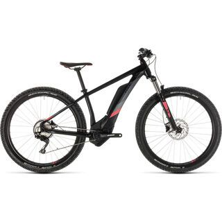 Cube Access Hybrid Pro 400 27.5 2019, black´n´coral - E-Bike