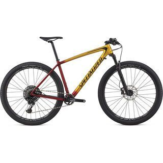 Specialized Epic HT Expert 2018, gloss gold/candy red/cosmic black - Mountainbike