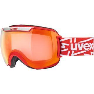 uvex downhill 2000 VFM, red mat/Lens: mirror red - Skibrille