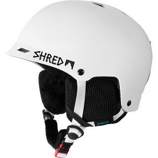 Shred Half Brain, white - Skihelm