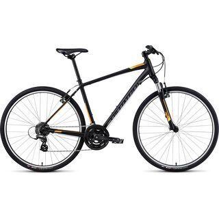 Specialized Crosstrail 2016, black/charcoal/orange - Fitnessbike
