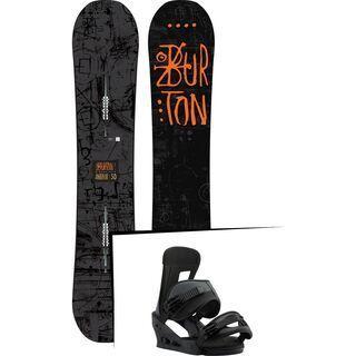 Set: Burton Amplifier 2018 + Burton Freestyle black matte