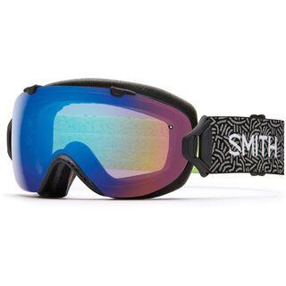 Smith I/Os inkl. Wechselscheibe, new wave/Lens: chromapop sun - Skibrille