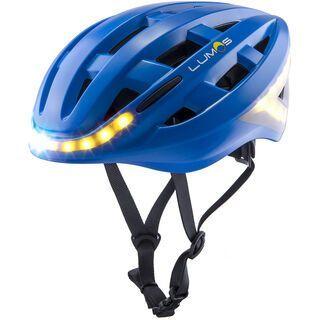Lumos Kickstart Helmet, cobalt blue - Fahrradhelm