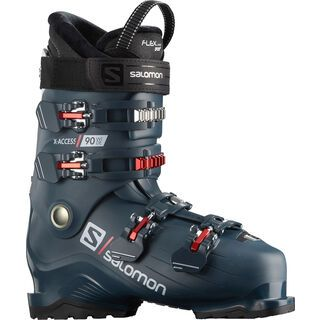 Salomon X Access 90 Wide, petrol blue - Skiboots