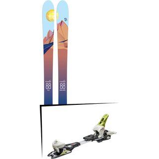 Set: Icelantic Oracle 88 2018 + Fritschi Diamir Eagle 12 lemongrass