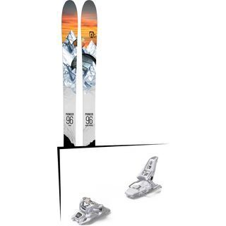 Set: Icelantic Pioneer 96 2018 + Marker Squire 11 ID white