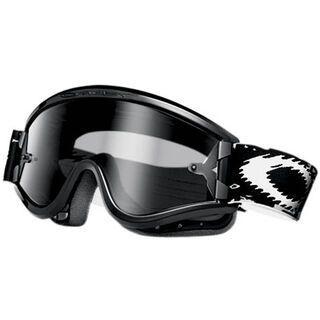 Oakley L Frame MX Sand, Jet Black/Grey & Clear - MX Brille