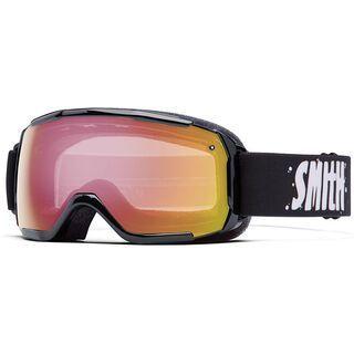 Smith Grom, black/red sonsor mirror - Skibrille