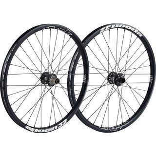 Spank Spoon 32 Wheelset 26, black - Laufradsatz