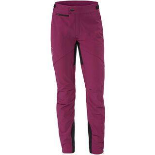 Vaude Womens Qimsa Softshell Pants, bordeaux - Radhose
