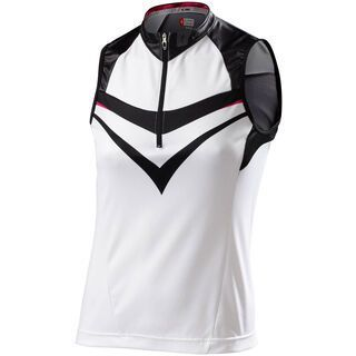 Specialized Womens RBX Comp Sleeveless Jersey, black/white - Radtrikot