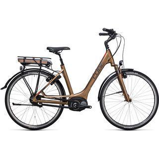 Cube Travel Hybrid 400 Easy Entry 2017, havanna brown´n´orange - E-Bike