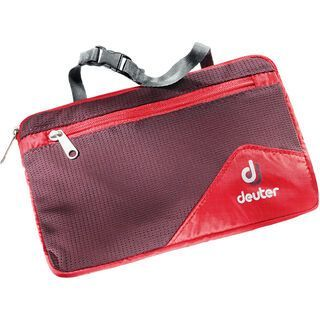 Deuter Wash Bag Lite II, fire aubergine - Kulturbeutel