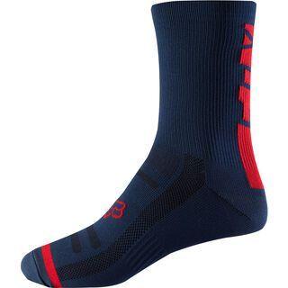 Fox 8 Trail Sock, light indigo - Radsocken