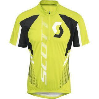 Scott Shirt Helium Logo s/sl, lime green - Radtrikot