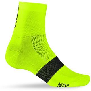 Giro Classic Racer, high yellow black - Radsocken