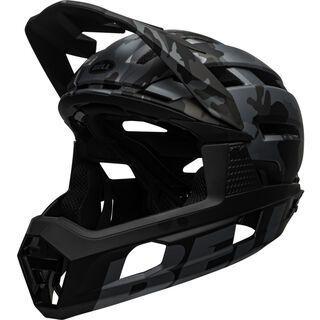 Bell Super Air R Spherical MIPS, gloss black camo - Fahrradhelm