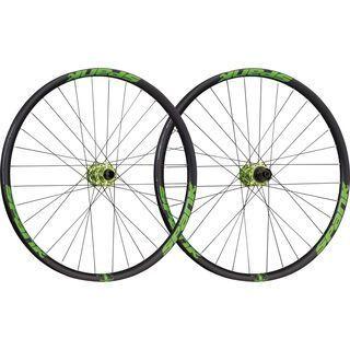 Spank Spike Race 33 Wheelset 26, black/emerald green - Laufradsatz