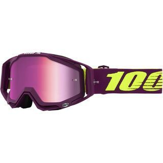 100% Racecraft, klepto/Lens: mir pink - MX Brille