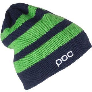 POC Striped Beanie, Dubnium Blue/Thallium Green - Mütze