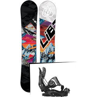 Set: Lib Tech T-Rice Pro 2017 + Flow Fuse Hybrid (1718360S)