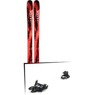 Set: Line Honey Badger 2019 + Marker Alpinist 9 black/titanium