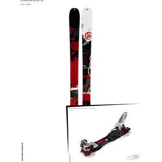 K2 SKI Set: Shreditor 102 2014 + Marker Baron EPF 13
