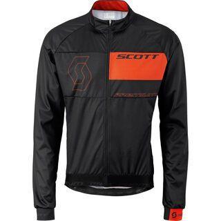 Scott RC Premium 10 WB Jacket, black/tangerine orange - Radjacke