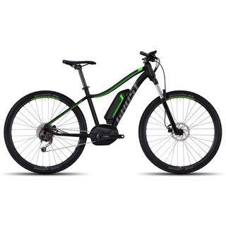 Ghost Hybride Teru 5 AL W 2017, black/grey/green - E-Bike