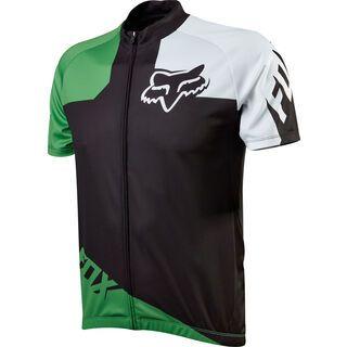 Fox Livewire Race Jersey, black/green - Radtrikot