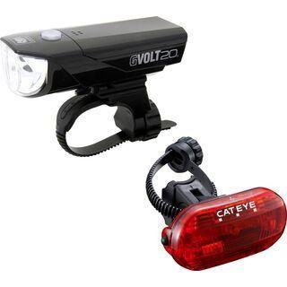 Cateye GVolt 20 + Omni 3G Beleuchtungsset