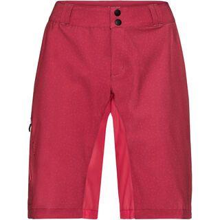 Vaude Women's Ligure Shorts inkl. Innenhose, red cluster - Radhose