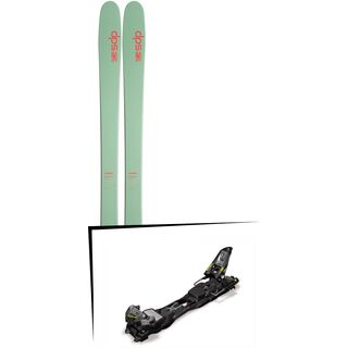 DPS Skis Set: Cassiar 95 Hybrid T2 2016 + Marker F12 Tour EPF