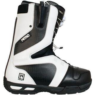 Nitro Venture TLS, White-Black - Snowboardschuhe