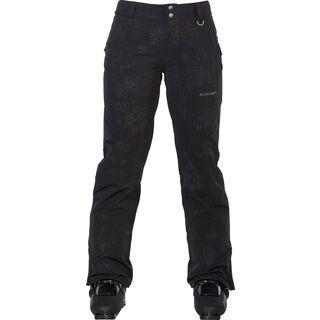 Armada Lenox Insulated Pant, black floral emboss - Skihose