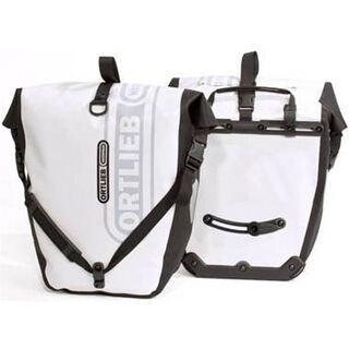 Ortlieb Back-Roller Classic White Line, weiß-schwarz - Fahrradtasche
