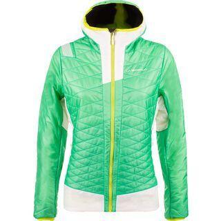 La Sportiva Elysium Primaloft Jacket W, spruce/white - Thermojacke