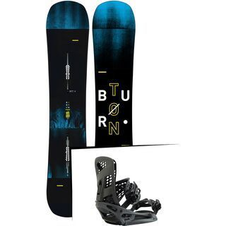 Set: Burton Instigator Wide 2019 + Burton Genesis X EST black matte