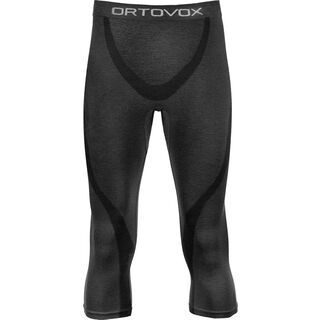 Ortovox Merino 140 Short Pants, black steel - Unterhose