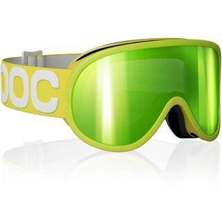 POC Retina, Yellow/Bronze/Green mirror - Skibrille