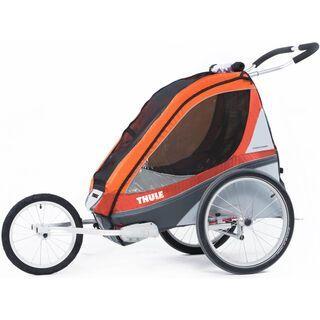 Thule Chariot Corsaire2 + Fahrradset, apricot - Fahrradanhänger