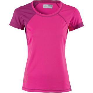Scott Womens Trail MTN 20 s/sl Shirt, bright pink/berry violet - Radtrikot
