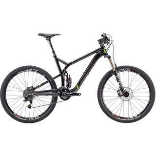 Cannondale Trigger 27.5 3 2015, black/green - Mountainbike