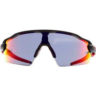 Oakley Radar EV Pitch, matte black ink/positive red iridium - Sportbrille