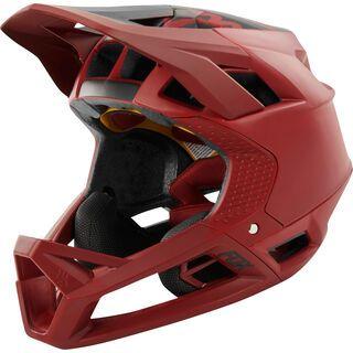 Fox Proframe Helmet Matte, cardinal - Fahrradhelm