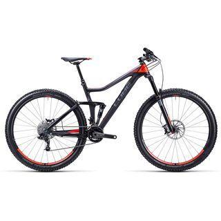 Cube Stereo 140 HPC Race 29 2015, black/flashred - Mountainbike