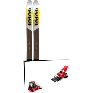 Set: K2 SKI Marksman 2018 + Tyrolia Attack² 18 X GW red