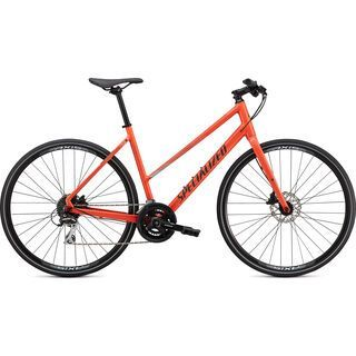 Specialized Sirrus 2.0 Step-Through 2020, coral/blue/black reflective - Fitnessbike