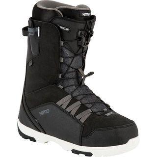 Nitro *** 2. Wahl *** Thunder TLS | Größe 28.0 // 42 2/3 2016, black white - Snowboardschuhe
